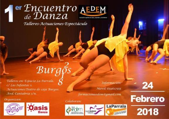 cartel encuentro Burgos 2018