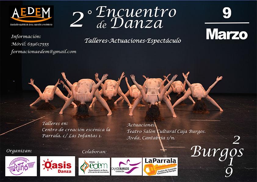 Cartel encuentro Burgos 2019