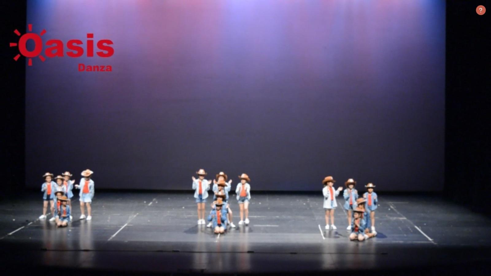 portada del video danza peques oeste
