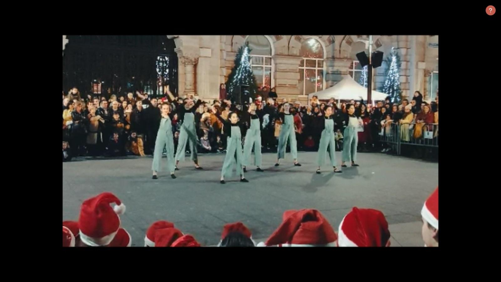 portada del video de la actuación de navidad 2019 grupo 2