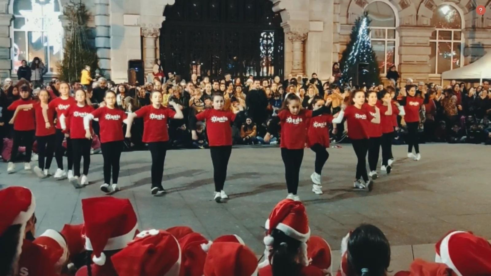 portada del video de la actuación de navidad 2019 niñas